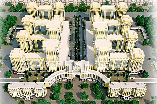 премьер палас компании л1 признан лучшим жилым комплексом санкт-петербурга